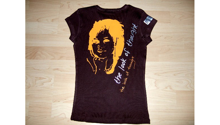 Flocage sur tee shirt 2 couleurs